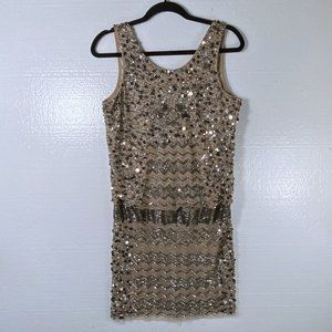 Adrianna Papell New Size 12 Beaded Cocktail Dress